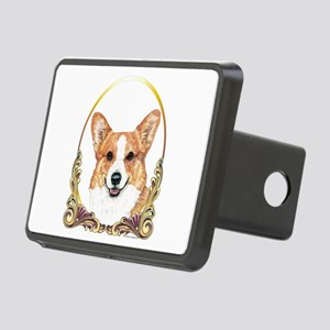 Pembroke Welsh Corgi Holid Rectangular Hitch Cover