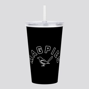 Newcastle Magpies Acrylic Double-wall Tumbler