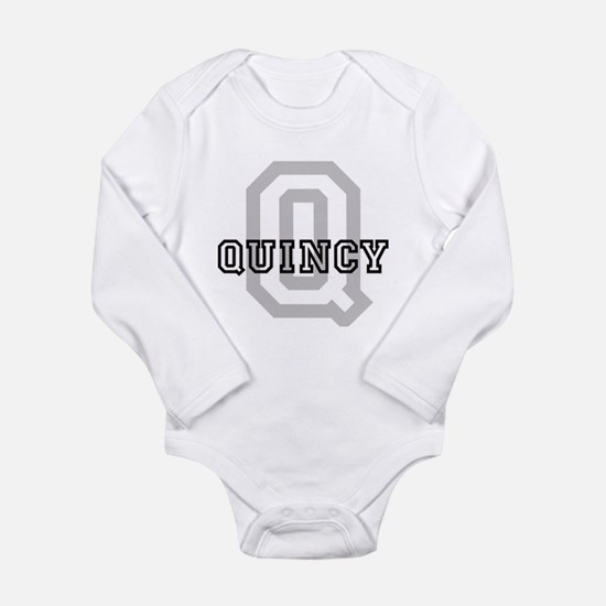 Quincy (Big Letter) Infant Creeper Body Suit