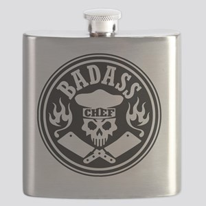 Badass Chef Black Flask
