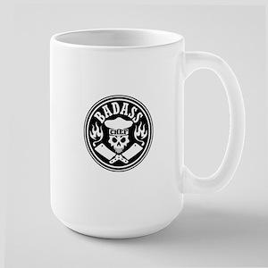 Badass Chef Black Mugs