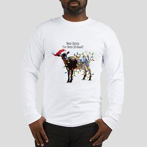 Christmas Goat I've Been So Go Long Sleeve T-Shirt