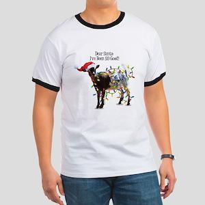 Christmas Goat I've Been So Good T-Shirt