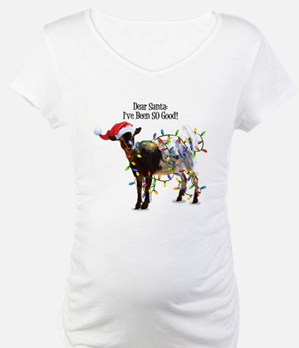 Christmas Goat I've Been So Good Shirt