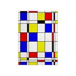 Mondrian-3a 5'x7'area Rug