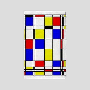 Mondrian-3a Area Rug