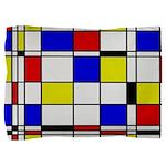Mondrian-3a Pillow Sham