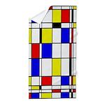 Mondrian-3a Beach Towel