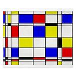 Mondrian-3a King Duvet