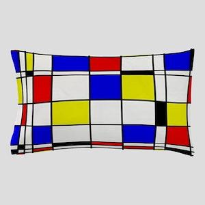 Mondrian-3a Pillow Case