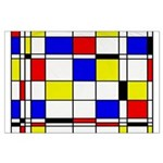 Mondrian-3a Large Poster