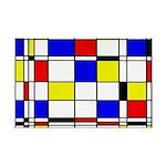 Mondrian-3a Mini Poster Print