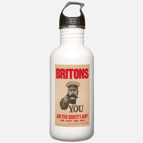 Britons Lord Kitchener Water Bottle