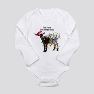Christmas Goat I've Been So Good Body Suit