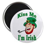 Kiss Me I'm Irish Magnet