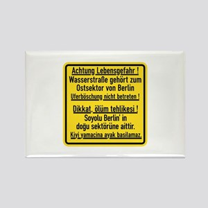 Achtung Lebensgefahr!, Cold War Berlin Rectangle