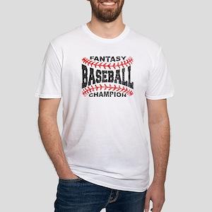 Fantasy Baseball Champion Baseball Laces T-Shirt