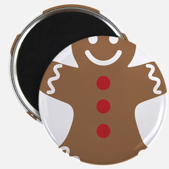 Christmas Gingerbread Man Magnets