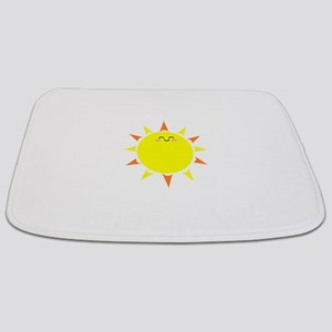Sunshine Morning Happy Kawaii Sun Bathmat