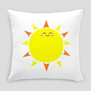Sunshine Morning Happy Kawaii Sun Everyday Pillow