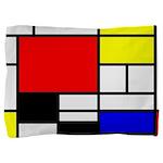 Mondrian-4a Pillow Sham