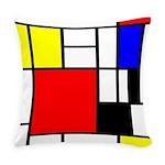 Mondrian-4a Everyday Pillow
