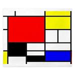 Mondrian-4a King Duvet