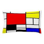 Mondrian-4a Pillow Case