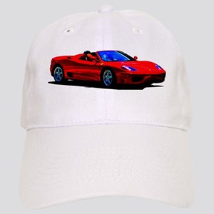 Red Ferrari - Exotic Car Cap