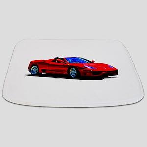 Red Ferrari - Exotic Car Bathmat