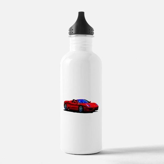 Red Ferrari - Exotic C Water Bottle