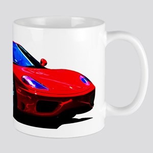 Red Ferrari - Exotic Car Mugs
