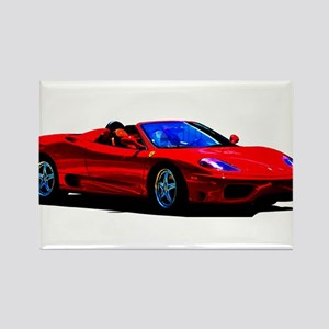 Red Ferrari - Exotic Car Magnets