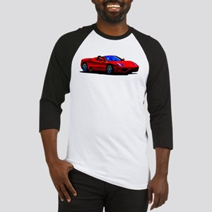 Red Ferrari - Exotic Car Baseball Jersey
