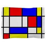 Mondrian-5a Pillow Sham