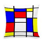 Mondrian-5a Everyday Pillow