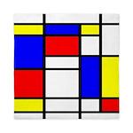 Mondrian-5a Queen Duvet