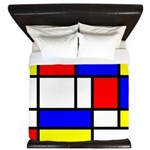 Mondrian-5a King Duvet