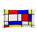 Mondrian-5a Pillow Case