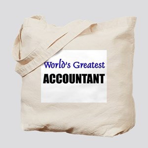 Worlds Greatest ACCOUNTANT Tote Bag