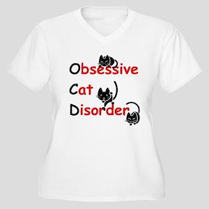 OCD! Women's Plus Size V-Neck T-Shirt