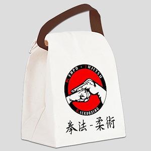 Kenpo Jujitsu Canvas Lunch Bag