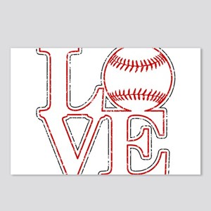 Love Baseball Classic Postcards (Package of 8)