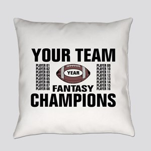 Your Team Personalized Fantasy Foo Everyday Pillow