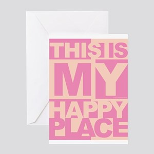 Happy Place Greeting Cards