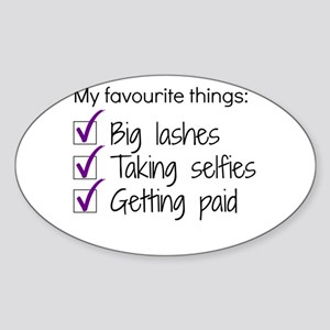 Favourite Things Makeup Sticker