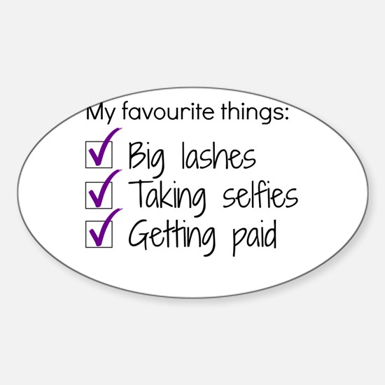 Favourite things makeup decal