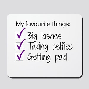 Favourite Things Makeup Mousepad