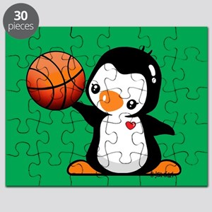 Basketball Penguin Puzzle