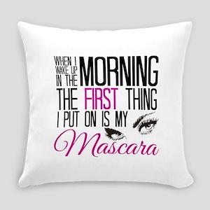 Mascara First Everyday Pillow